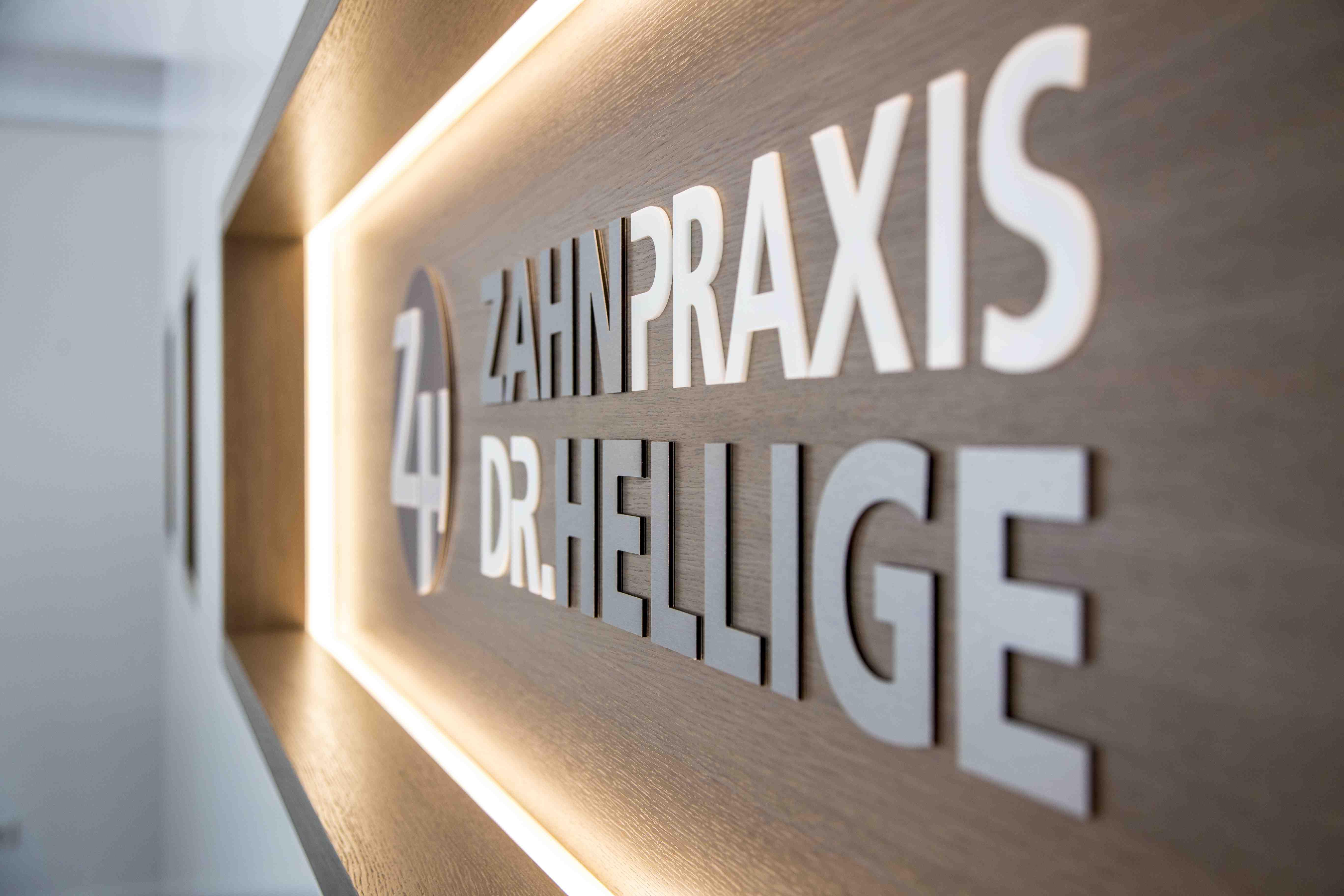 Logo der Zahnpraxis Dr. Hellige
