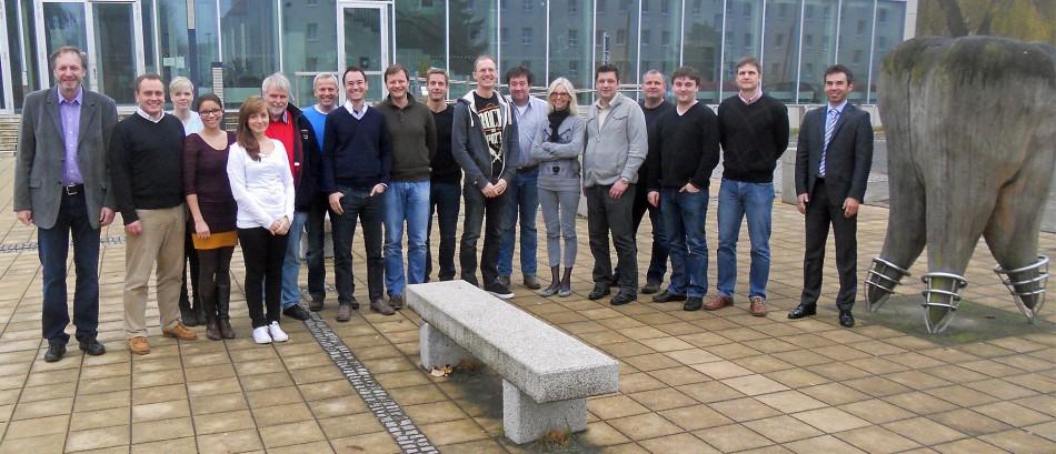 <blockquote><h3>Masterstudiengang</h3>Professoren und Studierende des Masterstudiengangs Clinical Dental CAD/CAM in Greifswald</blockquote>
